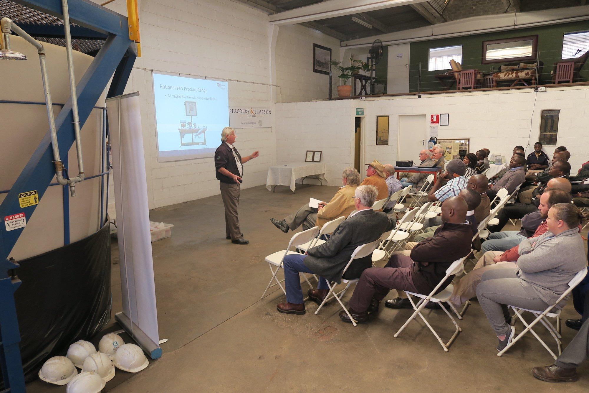 Seminar held in the P&S workshop