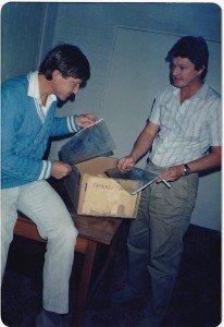 Peacocke & Simpson in 1985