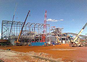 small image of Buzwagi gold mine in Tanzania