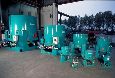 image of a range of Knelson Concentrators for free gold recovery