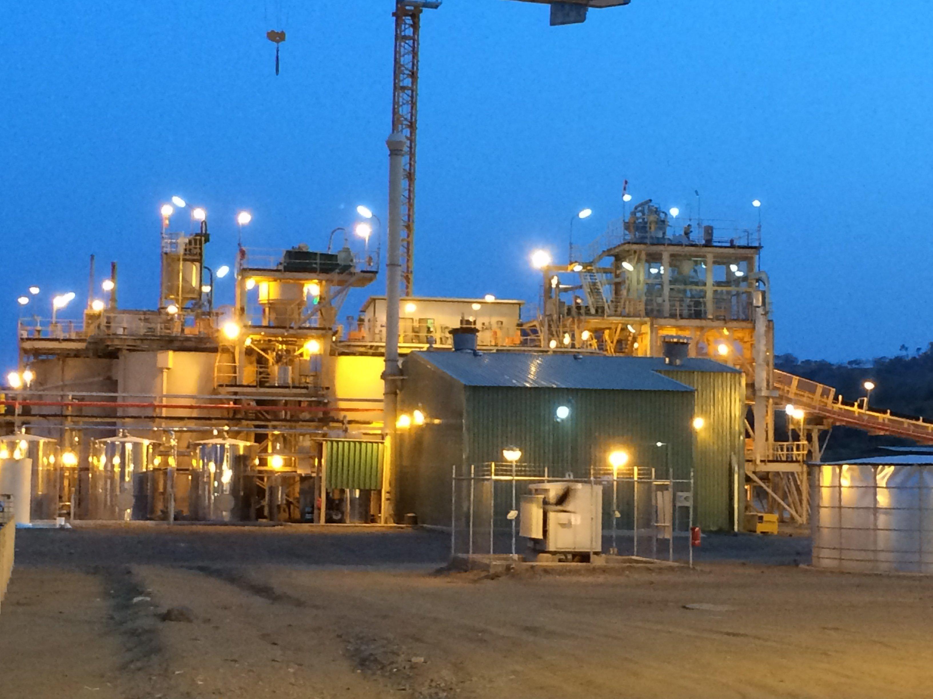 Roxgold's Yaramoko Mine in Burkina Faso
